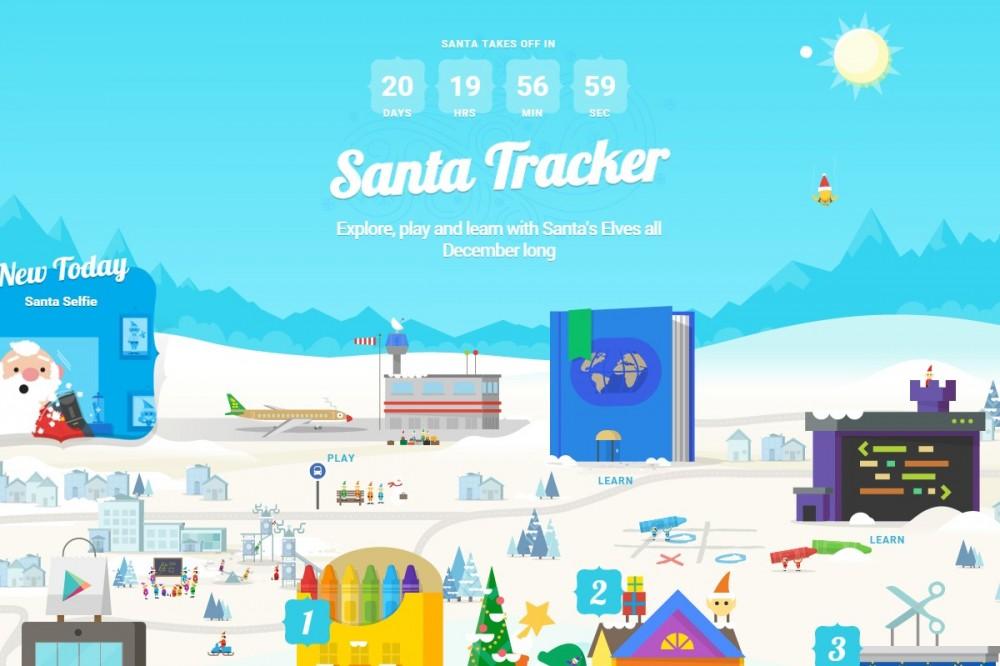 Google Santa Tracker λοιπόν