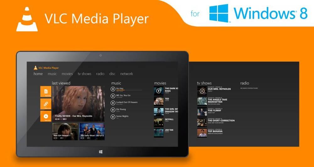 Από σήμερα διαθέσιμο το VLC για τα Windows 8