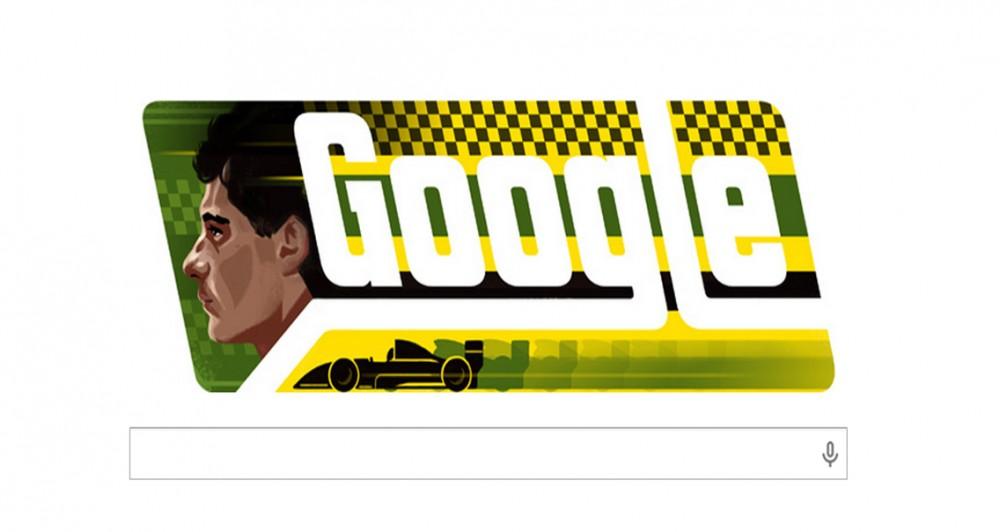Το doodle σήμερα τιμά τη μνήμη του Άιρτον Σένα