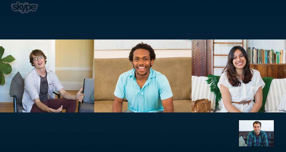 Δωρεάν το Group Video Calling του Skype