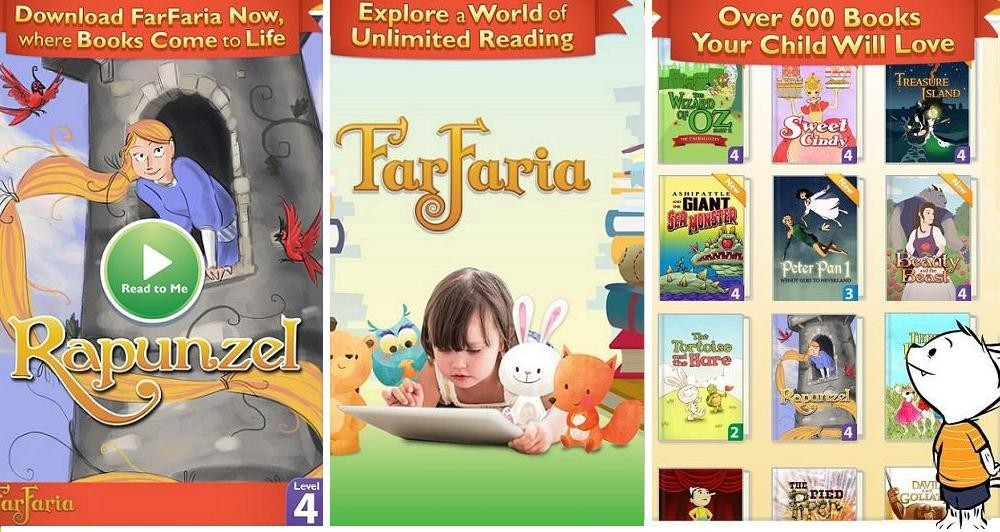 FarFaria: Νέα χαρακτηριστικά για την συνδρομητική υπηρεσία e-book