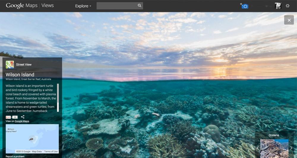 Το Street View μεταμορφώνεται σε Underwater View