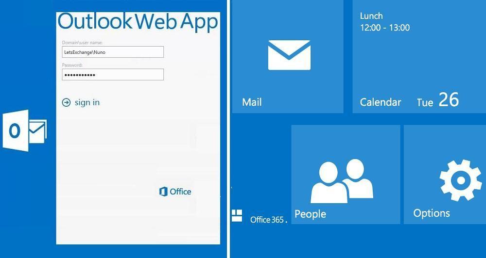Outlook Web App για το Office 365
