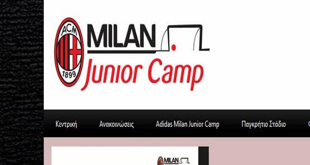 Επέκταση συνεργασίας με το Milan Junior Camp Creta