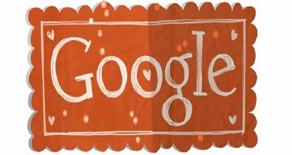 It's Google's day, not valentine's