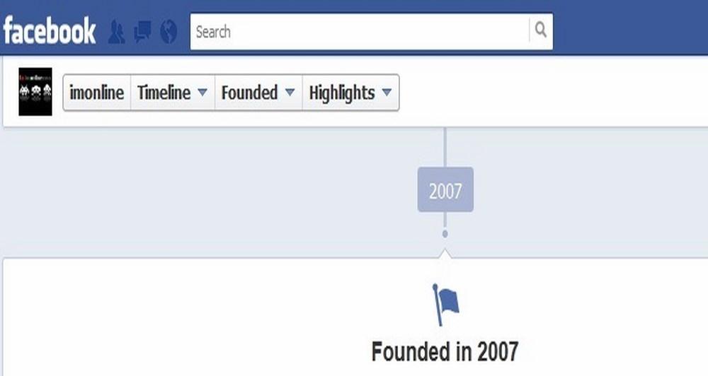 Facebook Timeline και στις σελίδες