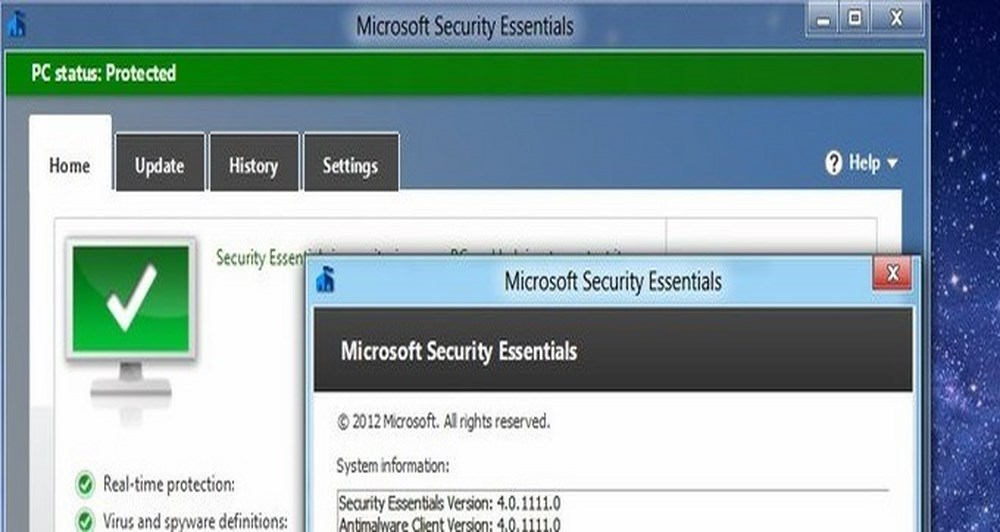 Βγήκε το Microsoft Security Essentials 4