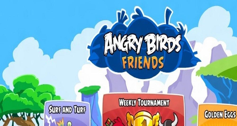 Τα Angry Birds προκαλούν τους φίλους