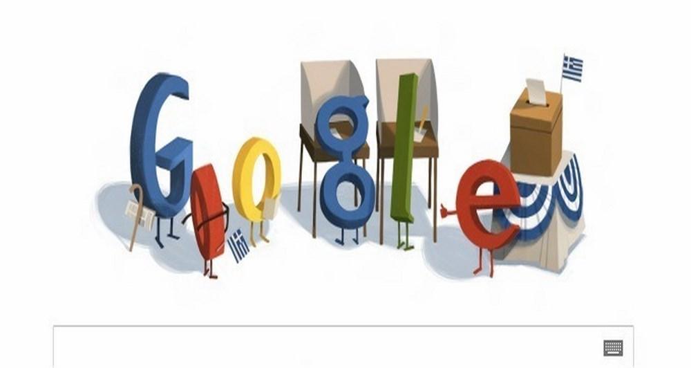 Εθνικές εκλογές 2012 με Google Doodle ξανά