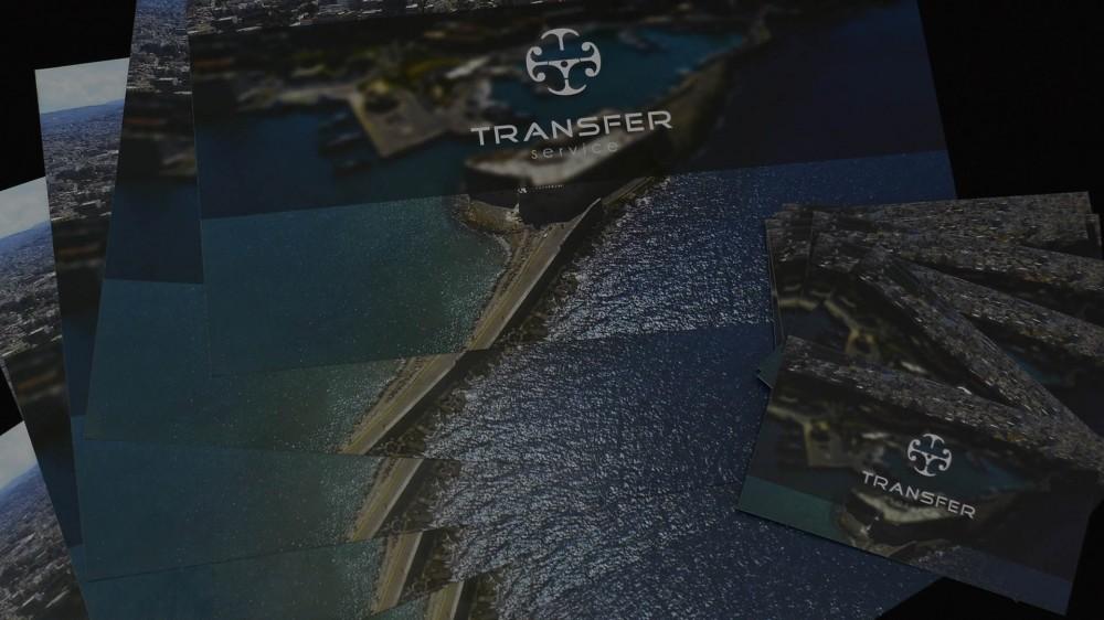 Εταιρική ταυτότητα Transfer Service