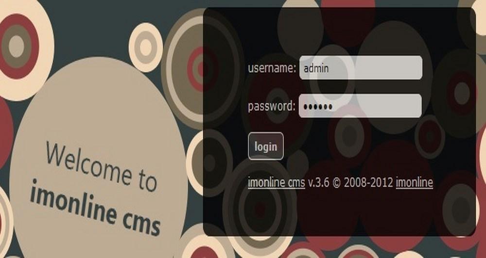 imonline cms 3.6 και αναβάθμιση