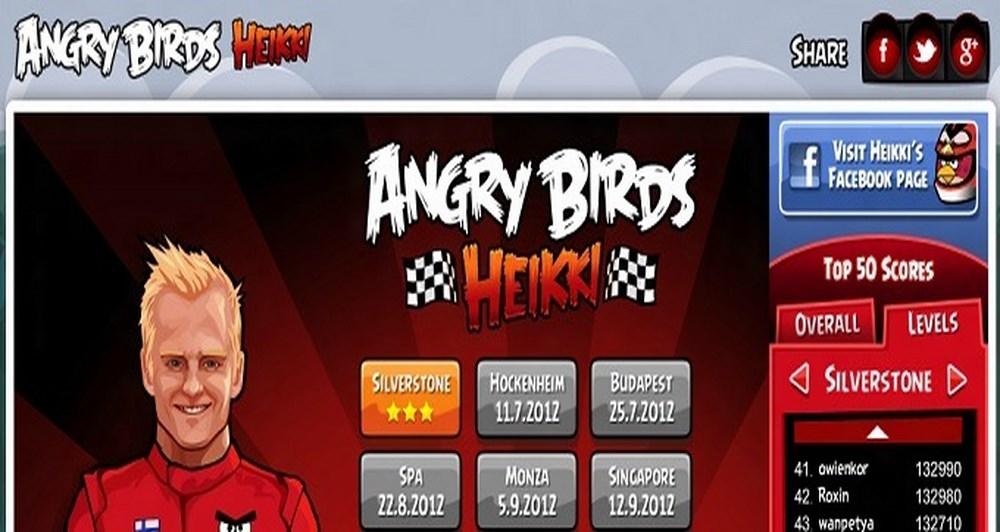 Angry Birds Heikki, πάμε formula