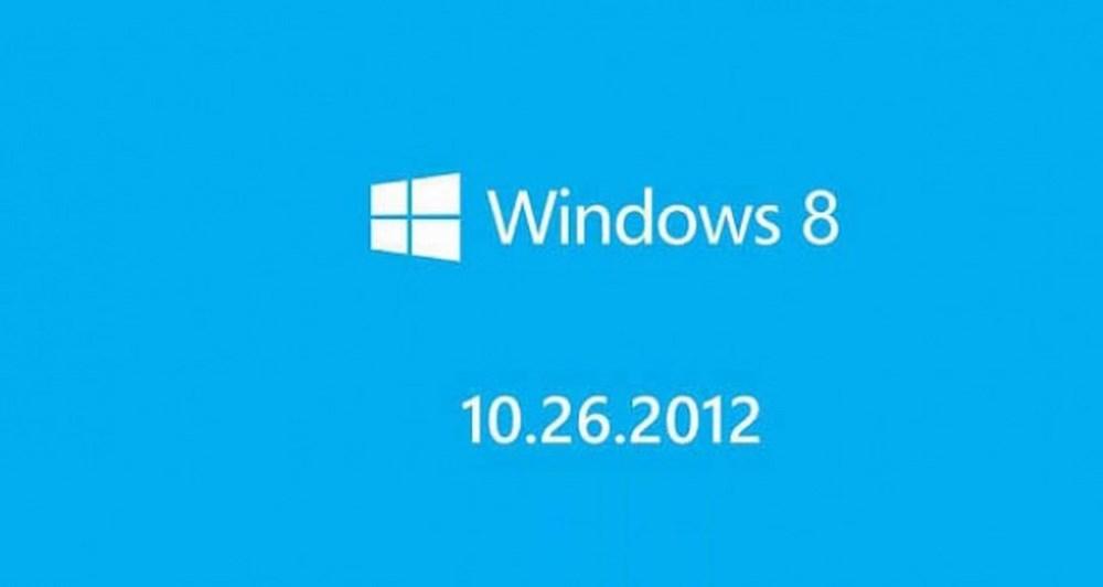 26 Οκτωβρίου τα Windows 8 στα ράφια