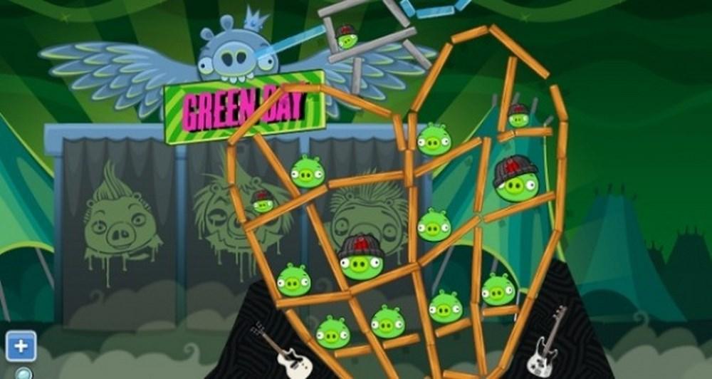 Οι Green Day ροκάρουν με Angry Birds