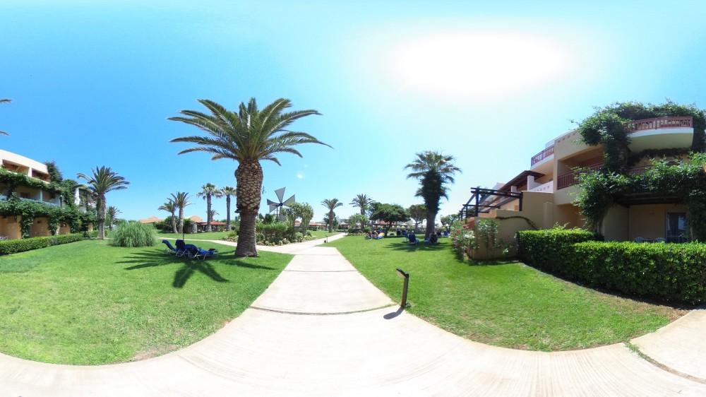 Το ξενοδοχείο Anissa Beach στους χάρτες της Google