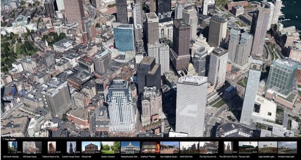 3D imagery και Google Earth 7