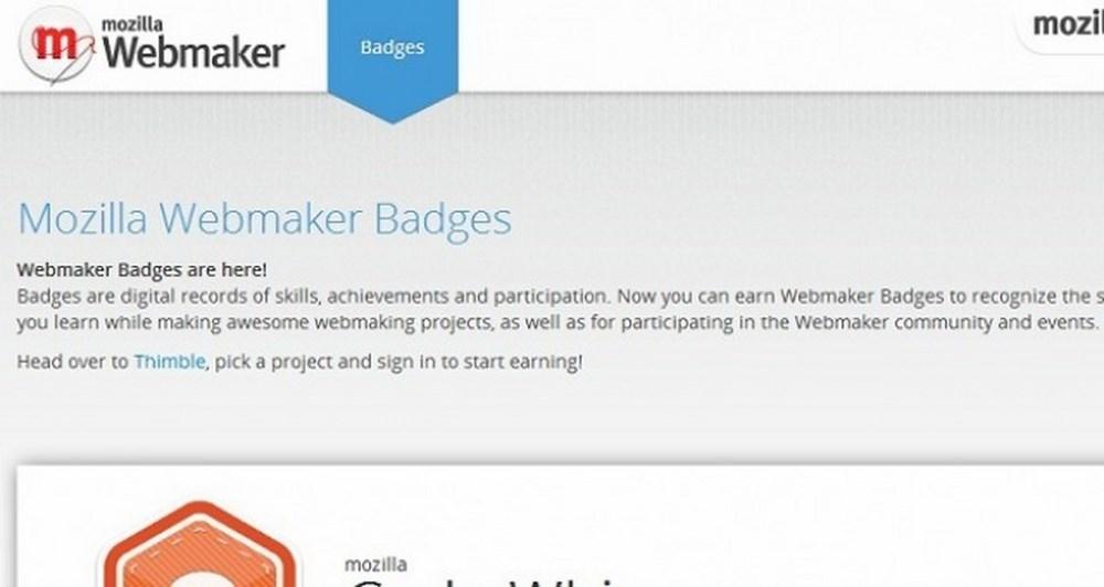 Ήρθαν τα Webmaker Badges