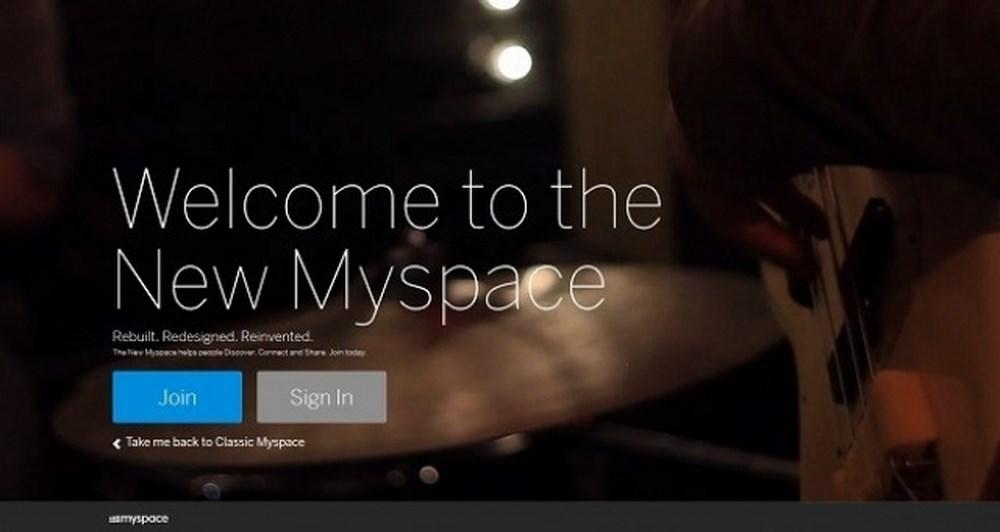 Ήρθε το νέο MySpace.com