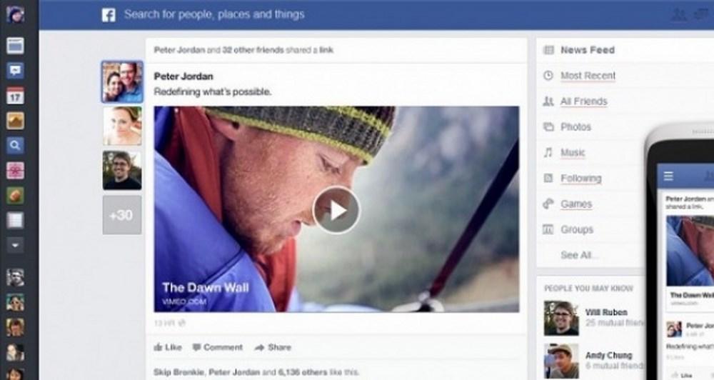 Έρχεται το νέο Facebook