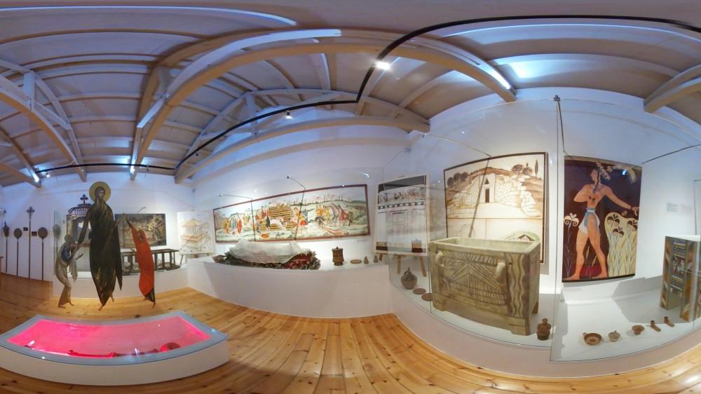 Εικονική πλοήγηση στο μουσείο ιστορίας ταφής
