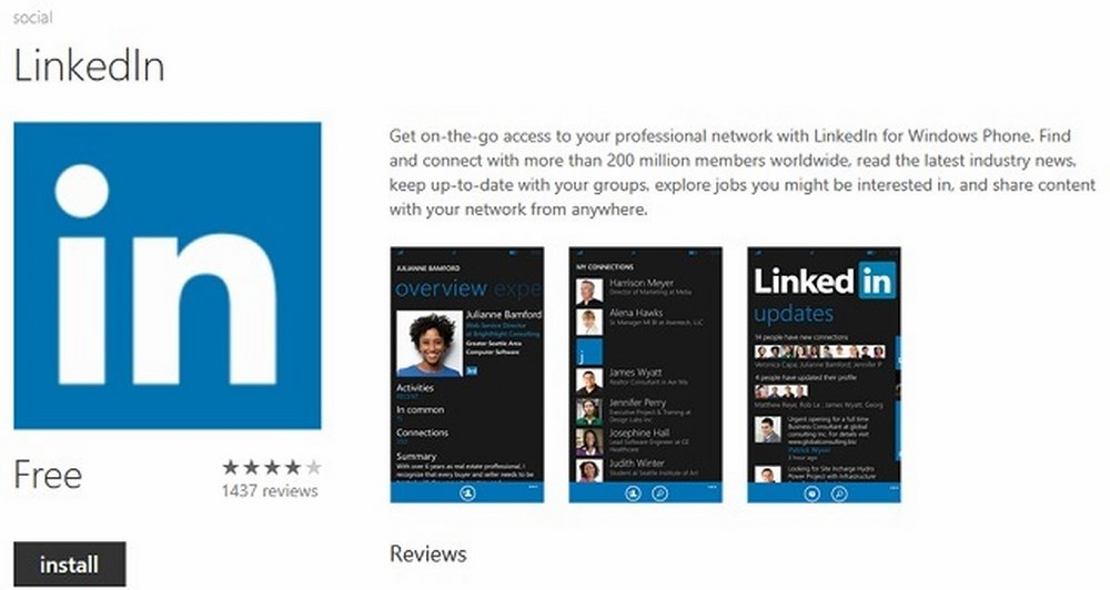 LinkedIn Update με ζωντανά πλακίδια