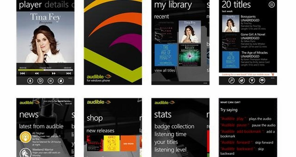 Δωρεάν audiobook για Windows Phone 8
