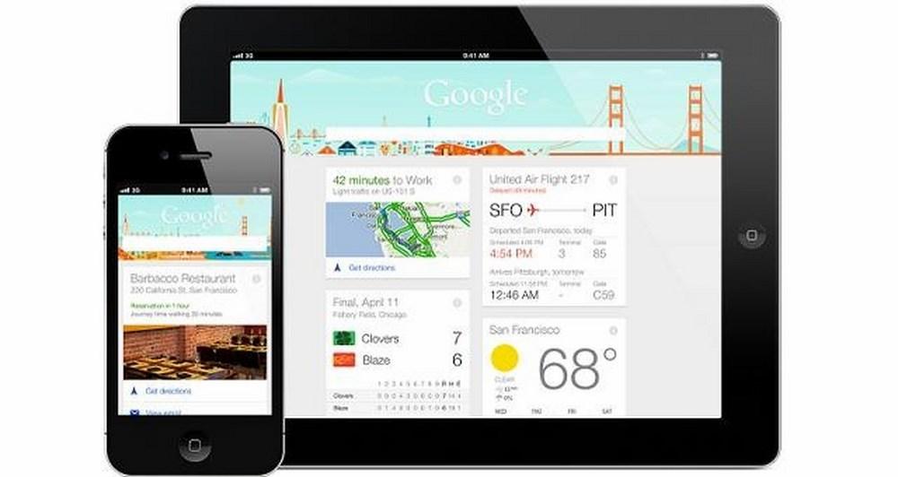 Google Now σε iPhone καi iPad