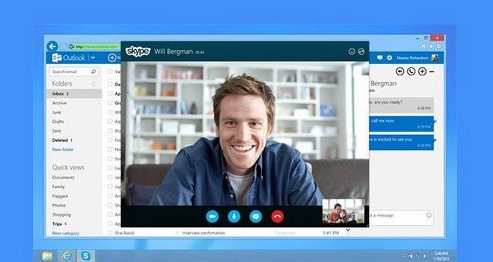 Το Skype στο Outlook.com