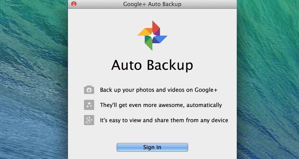 Η Google επιτρέπει το back up στο Google+