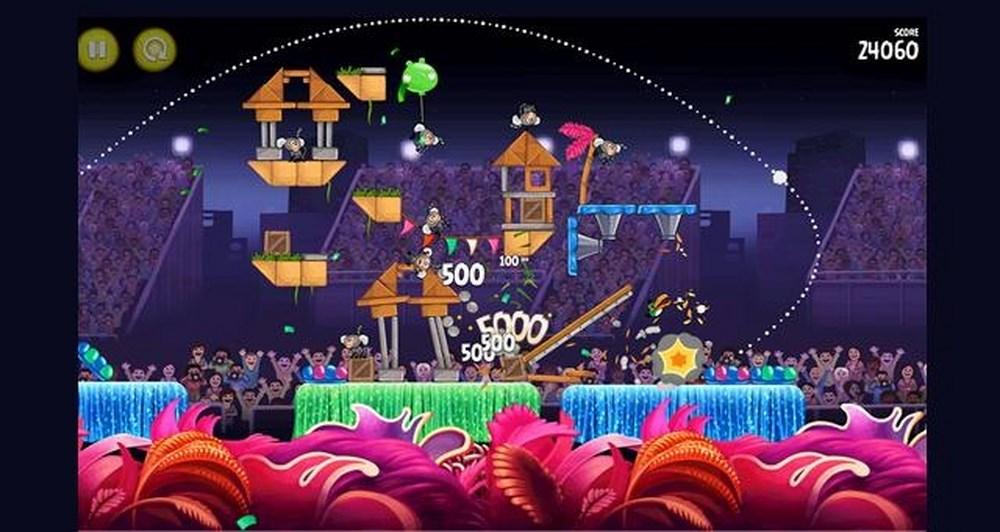 Ήρθαν τα Angry Birds Rio for Windows Phone