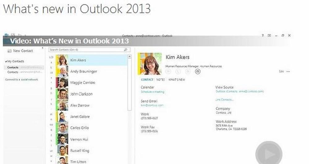 Outlook 2013 RT σαν μέρος του Windows Update 8.1