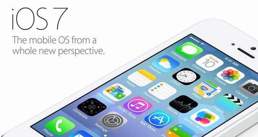 Η Apple παρουσίασε το iOS 7