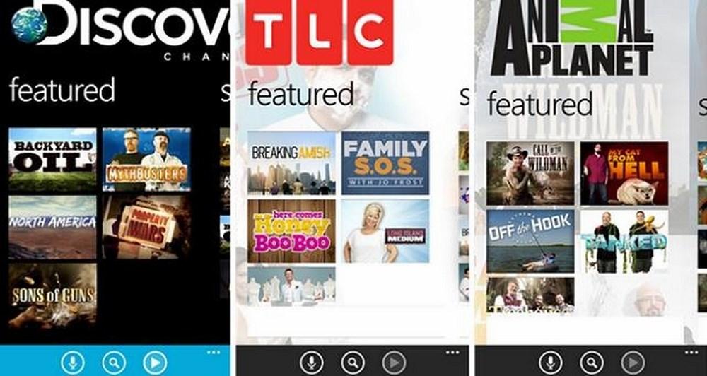 Discovery Channel, TLC και Animal Planet στο κινητό σας