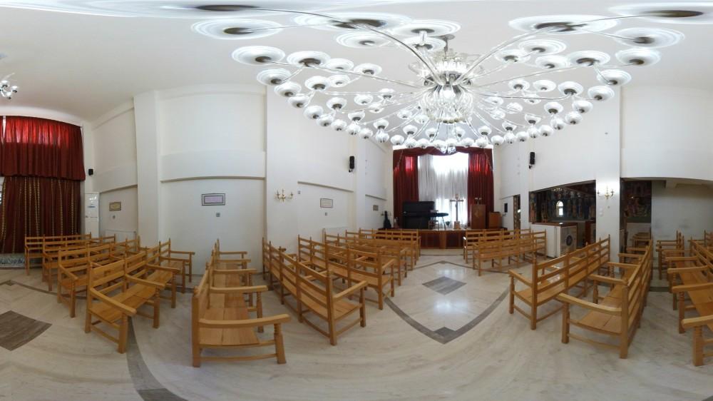Εικονική πλοήγηση στο πνευματικό κέντρο Αγία Αναστασία