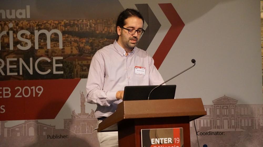 Η παρουσίαση της imonline στο διεθνές συνέδριο Enter 2019 στην Κύπρο