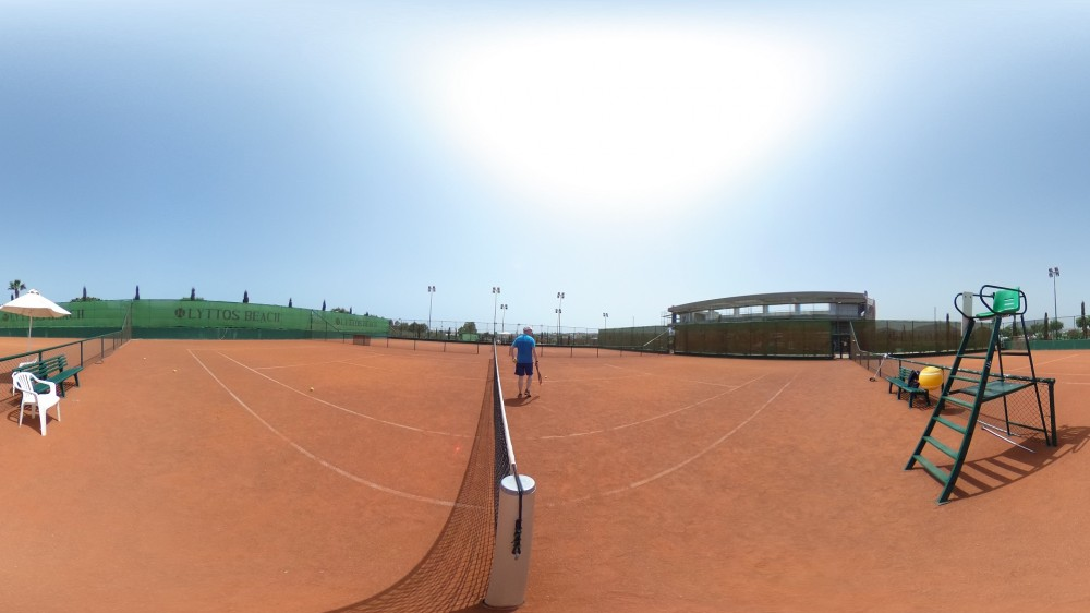 Lyttos Beach Tennis Academy 360° tour