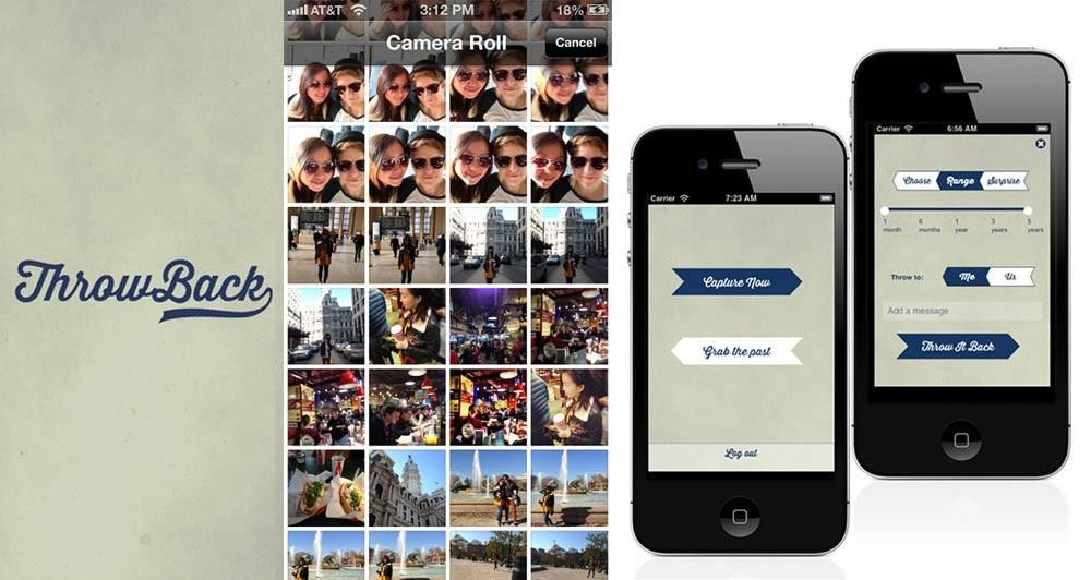 ThrowBack: Νέα εφαρμογή για το διαμοιρασμό εικόνων