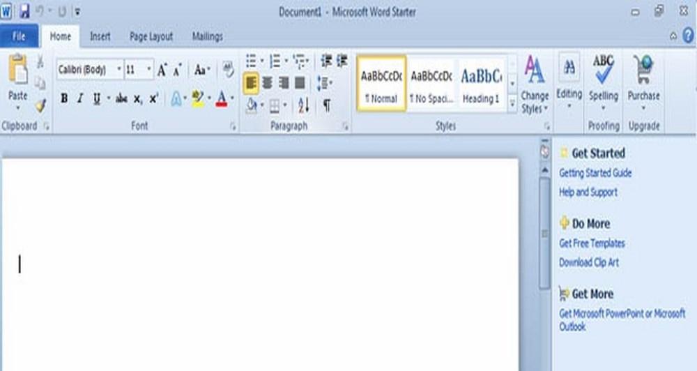Δωρεάν το Microsoft Office 2010 Starter Edition