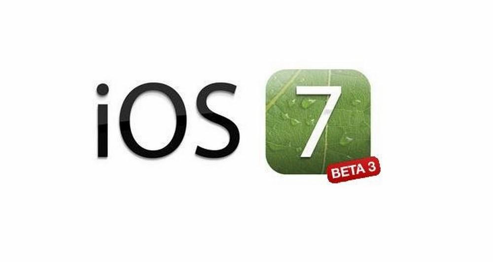 Ανακοινώθηκε η έκδοση iOS 7 beta 3