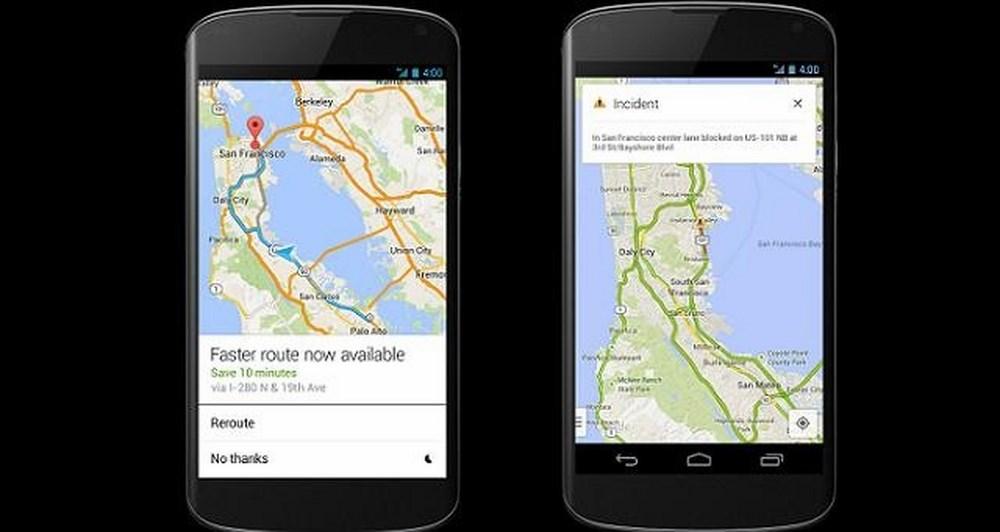 Google Maps app για smartphones και tablets