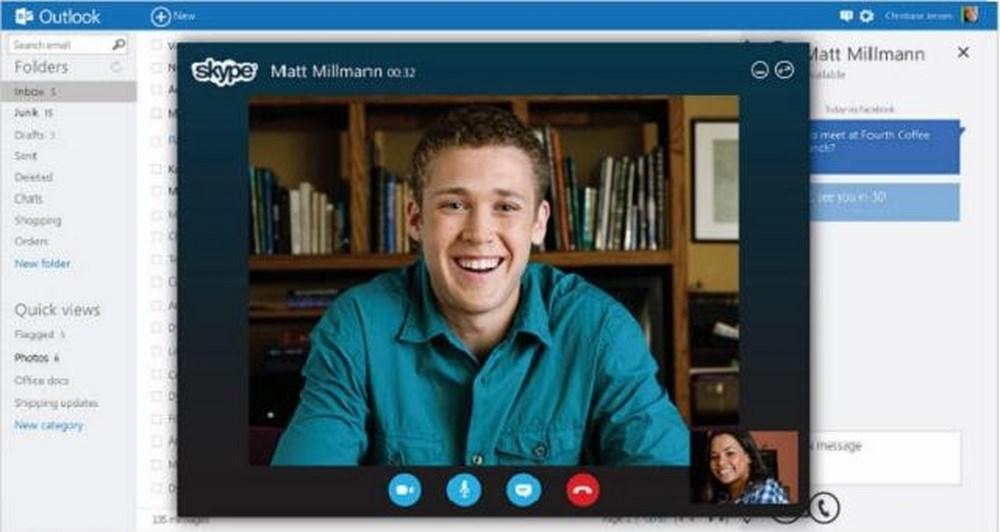 To Skype ενσωματώνεται στο Outlook.com