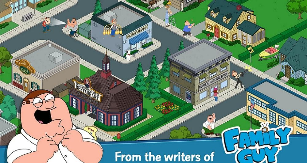 Family Guy The Quest for Stuff διαθέσιμο σε Android και iOS