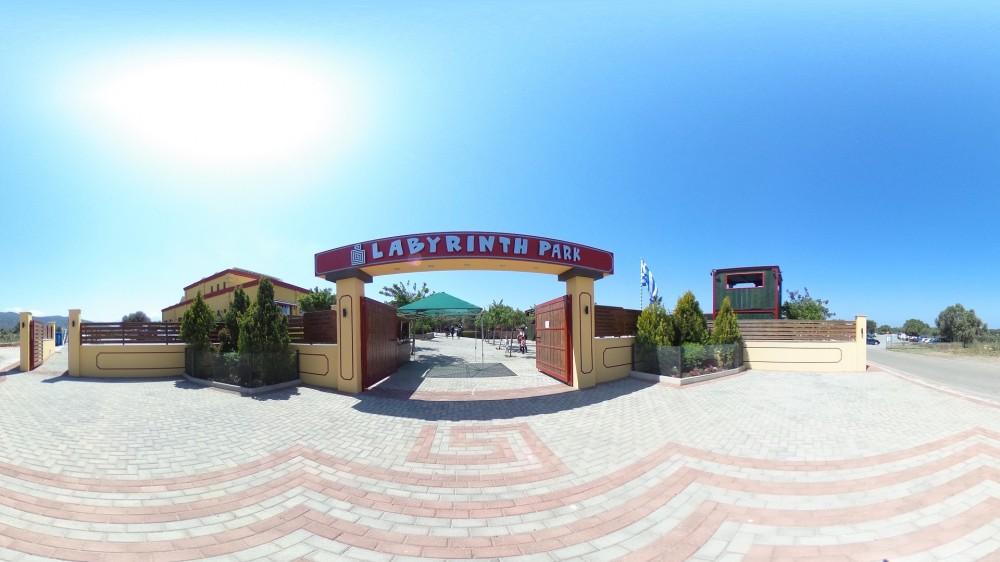 Εικονική πλοήγηση στο Labyrinth Park