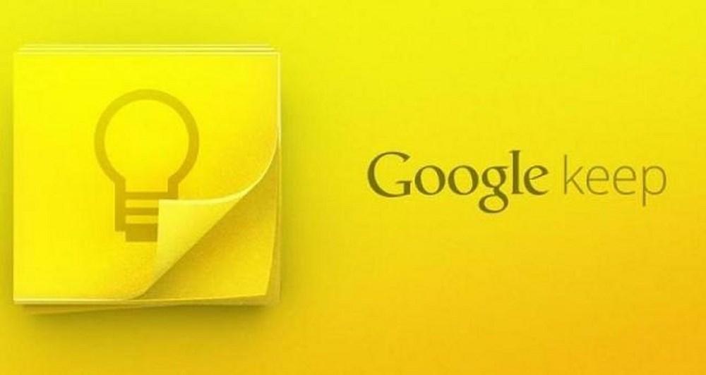 Google keep: Η νέα εφαρμογή υπενθύμισης εργασιών