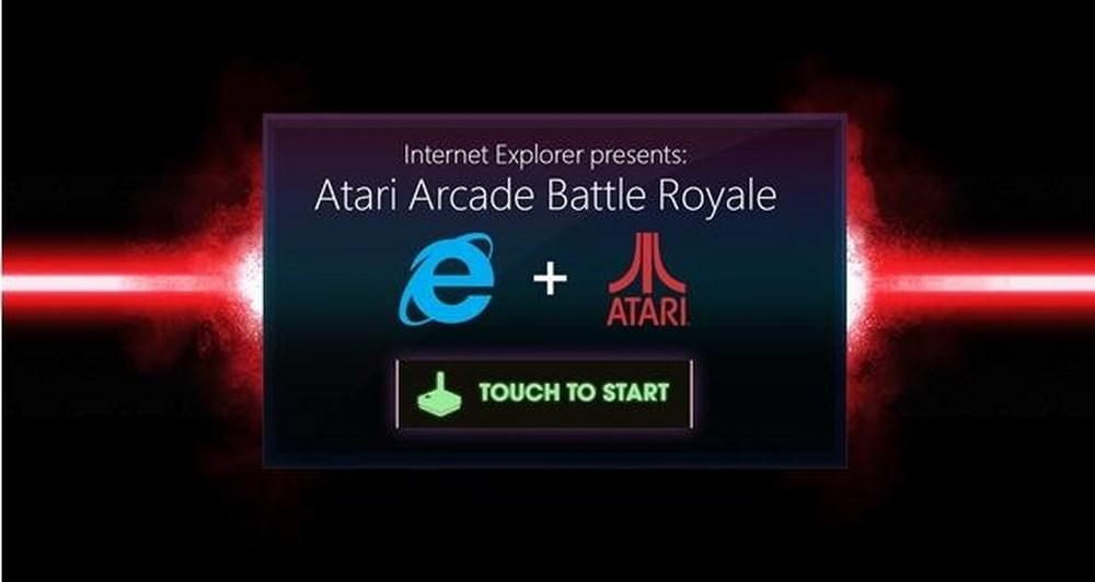 Διαγωνισμός Atari Arcade Battle Royale από τον IE