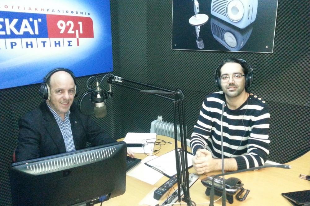 Συνέντευξη στον ΣΚΑΙ Κρήτης για το σεμινάριο moreSocial
