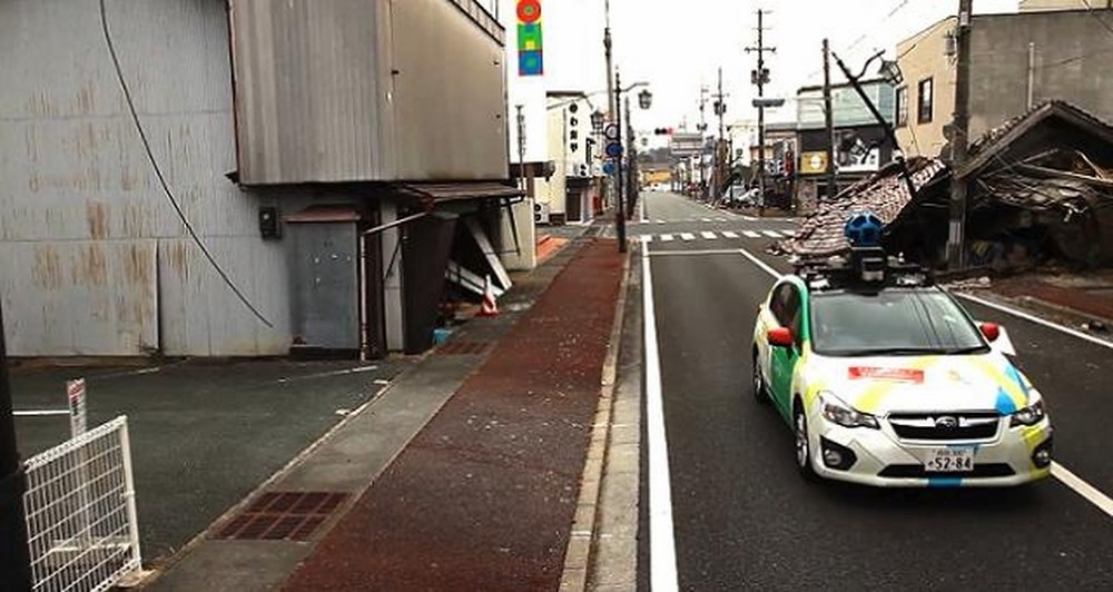 To Street View στις πληγείσες περιοχές από το τσουνάμι του 2011