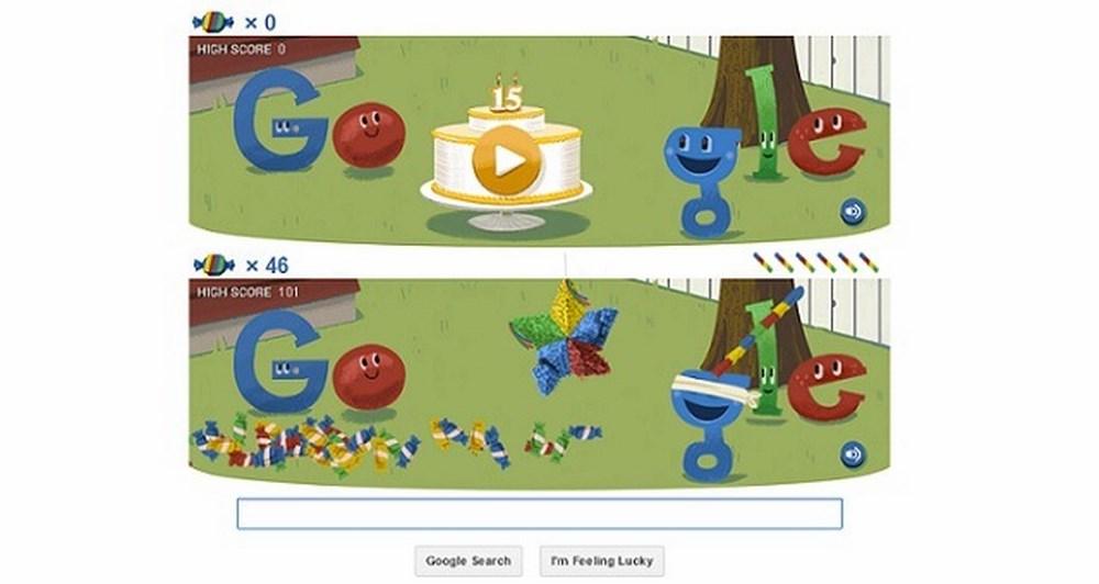 Το Google γιορτάζει τα 15α γενέθλια του