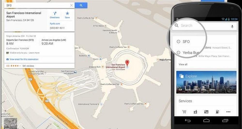 Νέες δυνατότητες πλοήγησης στο Google Maps