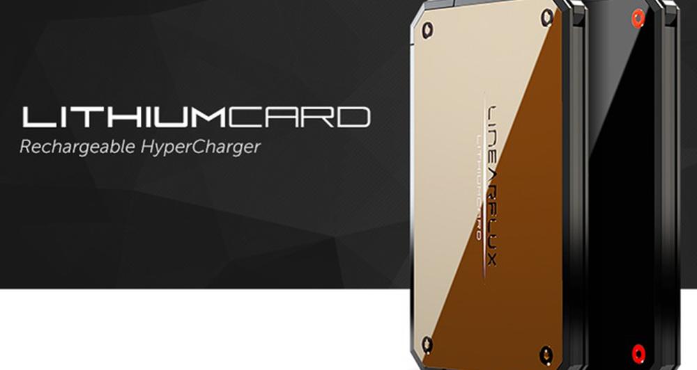 LithiumCard: Η νέα εξωτερική μπαταρία για smartphones